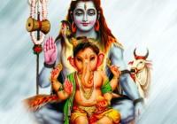 lord ganesha & shiva